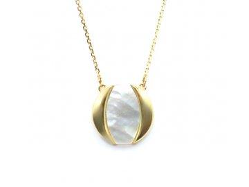 Zlatý řetízek s perletí