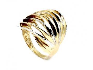 Zlatý prsten celozlatý 59