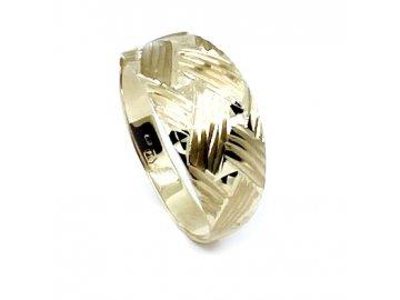 Zlatý prsten celozlatý 59-61