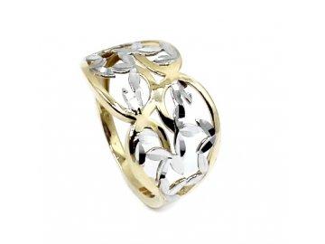 Zlatý prsten celozlatý v.58