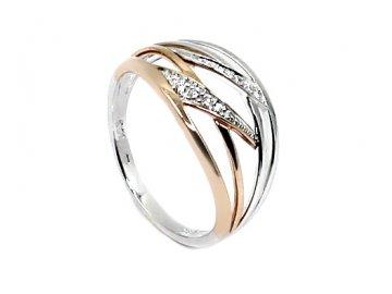 Diamantový prsten 56