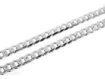 Stříbrný řetízek Pancer 50cm