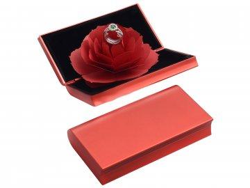 Krabička Růže červená