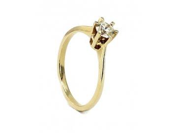 Diamantový prsten 0,47ct