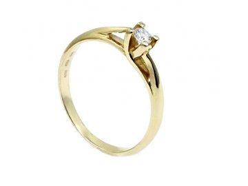 Diamantový prsten 0,09ct