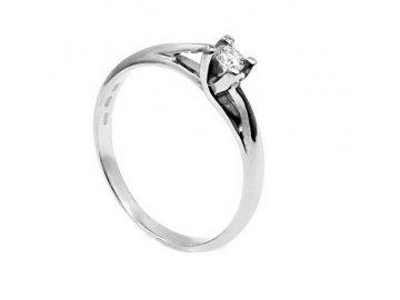 Diamantový prsten 0,18ct
