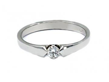 Diamantový prsten 0,11ct