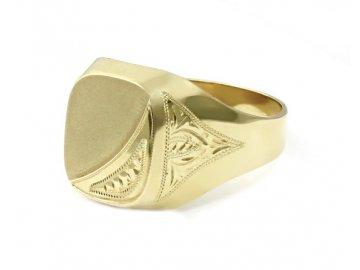 Pánský prsten pečetní