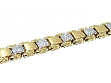 Zlatý náramek elegantní