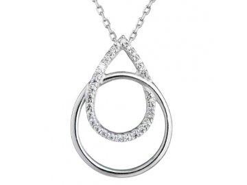 Zlatý řetízek s diamanty 82003.1