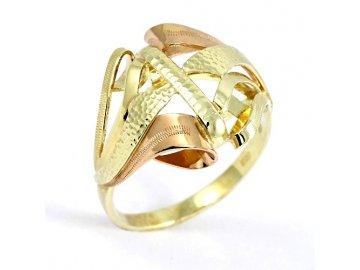Zlatý prsten ruční práce