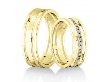 Snubní prsteny Rýdl 143/03