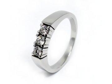 Alo diamantový prsten 0,36ct