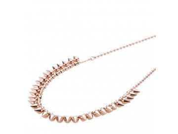 Ocelový náhrdelník Storm Narla Necklace Rose Gold