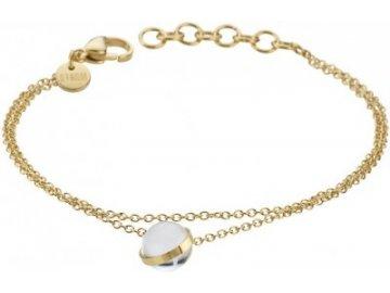 Ocelový náramek Storm Isla Bracelet Gold