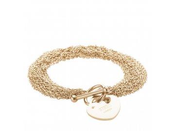 Ocelový náramek Storm Lorello Bracelet Gold