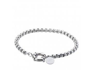 rolo bracelet silver