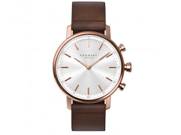 kronaby vodotesne connected watch carat a1000 1401 14406489