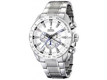 Panske hodinky FESTINA Dual Time 16488 1 s chronografom a datumom l