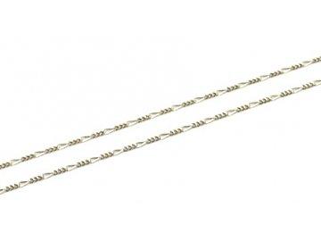 Zlatý řetízek jemné Figaro 3+1 38/40/45cm