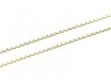 Zlatý řetízek Anker 42/45/50cm
