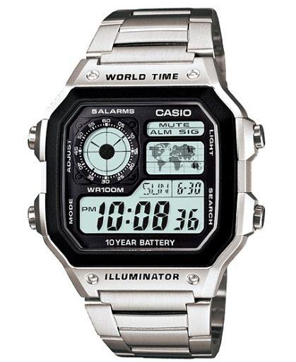 Pánské hodinky Casio AE-1200WHD-1A