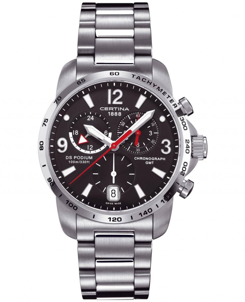 Pánské hodinky Certina DS Podium Big Chrono GMT C001.639.11.057.00
