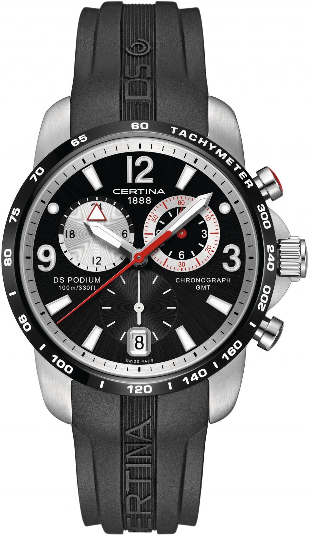 Pánské hodinky Certina DS Podium Big Chrono GMT C001.639.27.057.00