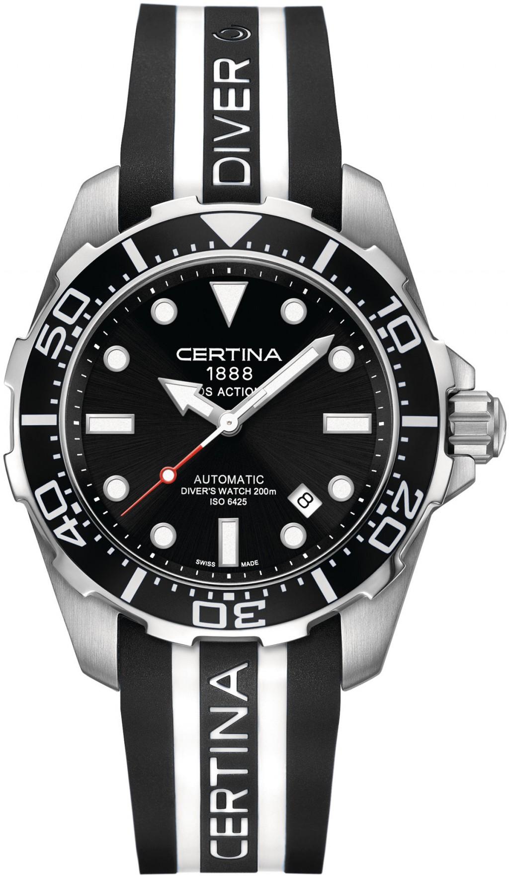 Pánské hodinky Certina DS Action Diver C013.407.17.051.01