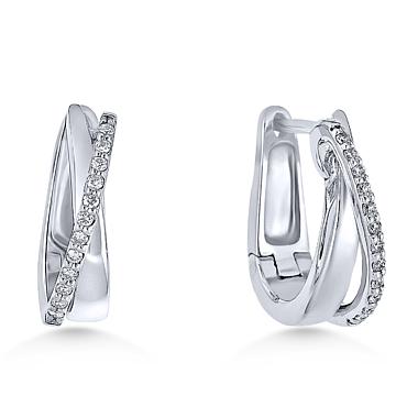 Image of Alo diamantové náušnice 23401426B