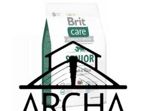 Brit Care Dog Senior Lamb & Rice 3kg
