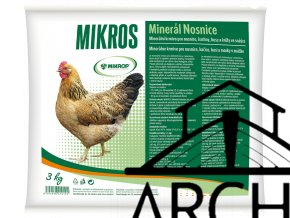 Mikros MINERÁL NOSNICE 3kg, Mikros DN 25kg
