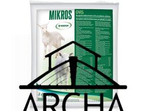 MIKROP/MIKROS OVIS - MLÉČNÁ SMĚS PRO JEHŇATA  - kompletní sušené mléko pro jehňata