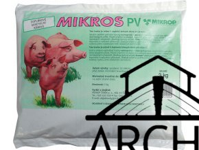 Mikros PV pro prasata a selata 3kg