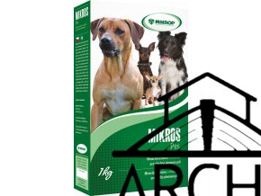 MIKROS PES - minerální krmivo s vitaminy pro psy 1kg