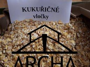 Kukuřičné vločky - 25 kg
