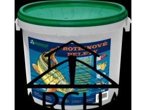 Proteinové pelety pro lov kaprů 5kg - JAHODA