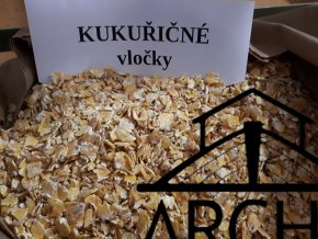 Kukuřičné vločky - 10 kg