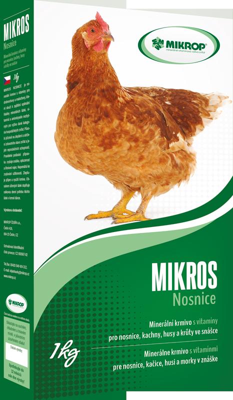 MIKROS NOSNICE (s vitaminy) 1kg
