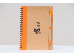 Zápisník s tužkou