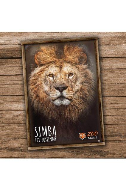 pohlednice n lev
