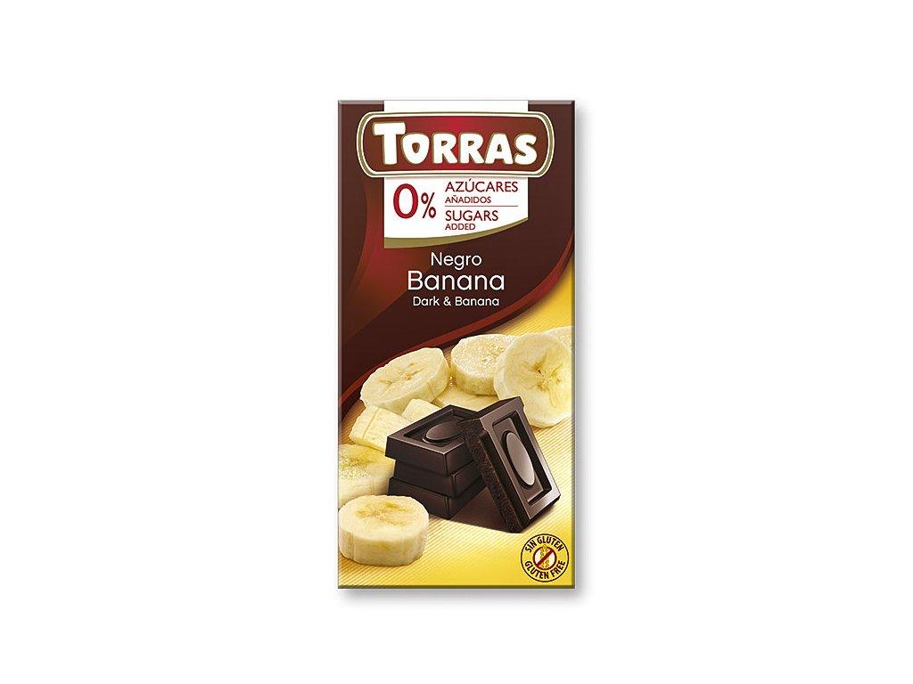 Čokolada s bananem TORRAS 75 g