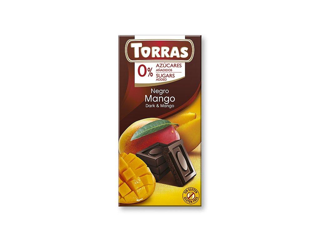 Čokolada s mangem TORRAS 75 g