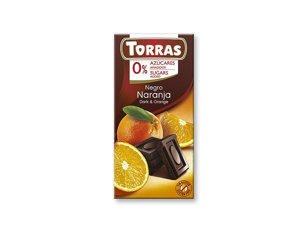 Čokolada s pomerančem TORRAS 75 g