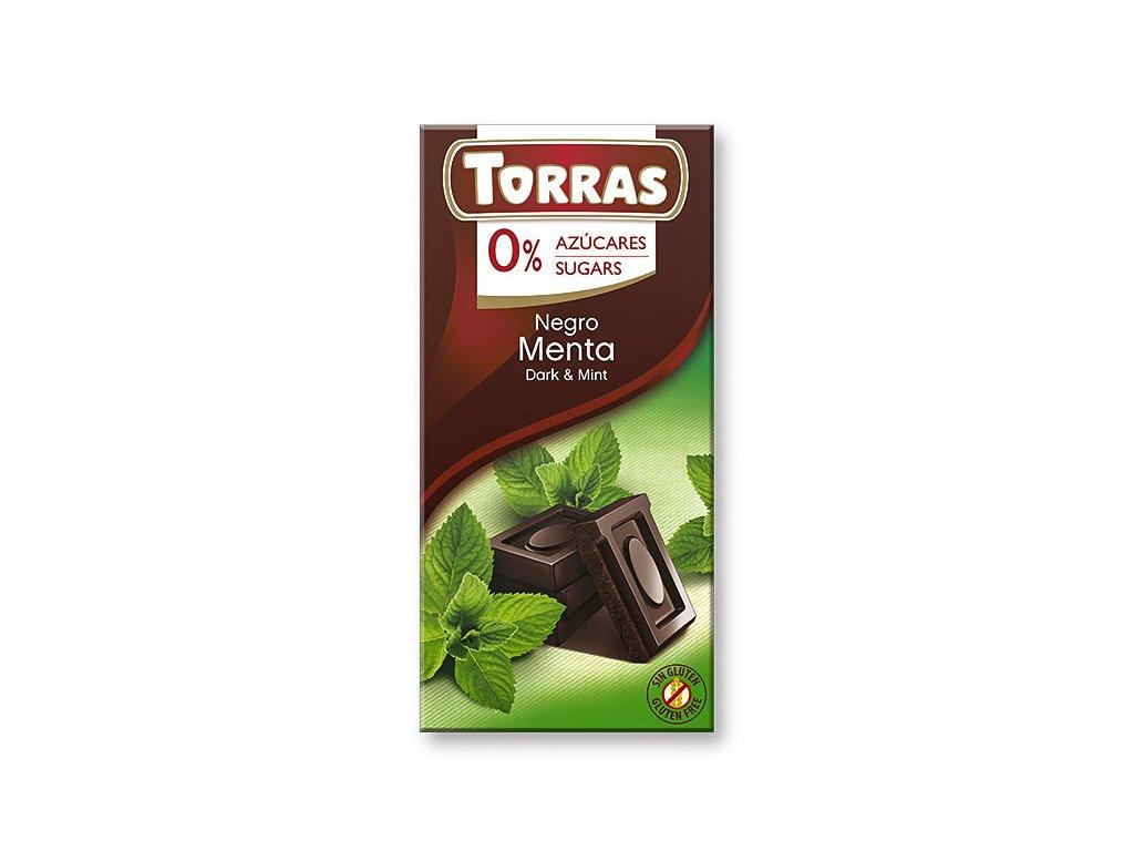 Čokolada s mátou TORRAS 75 g