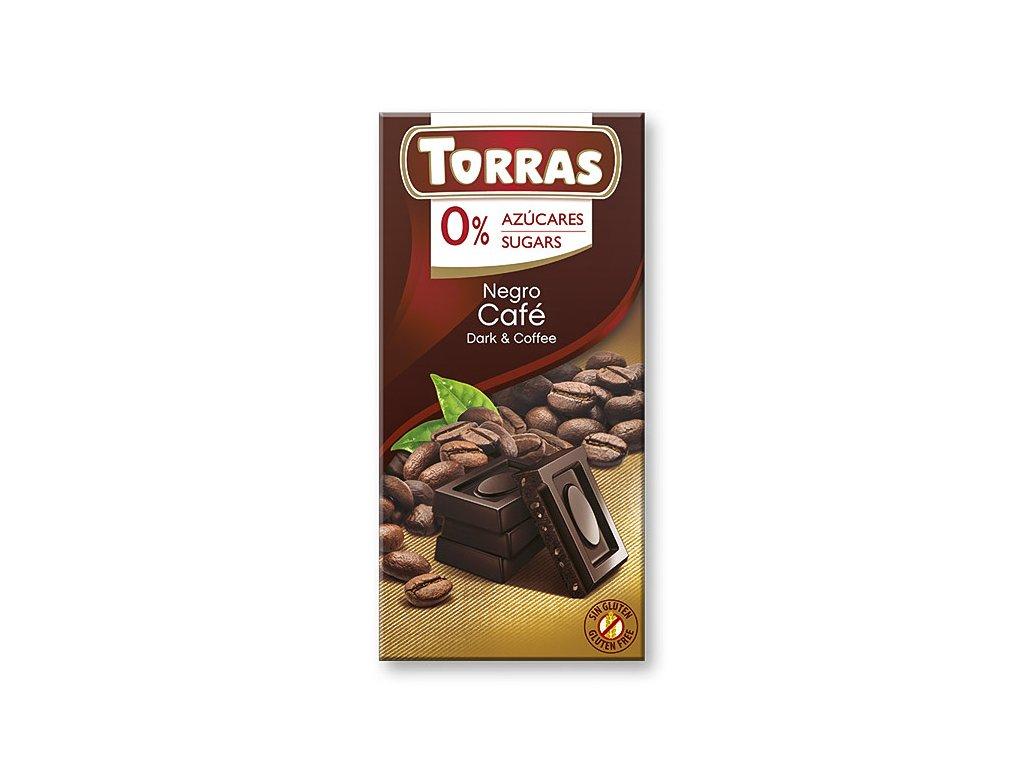 Čokolada s kávou TORRAS 75 g