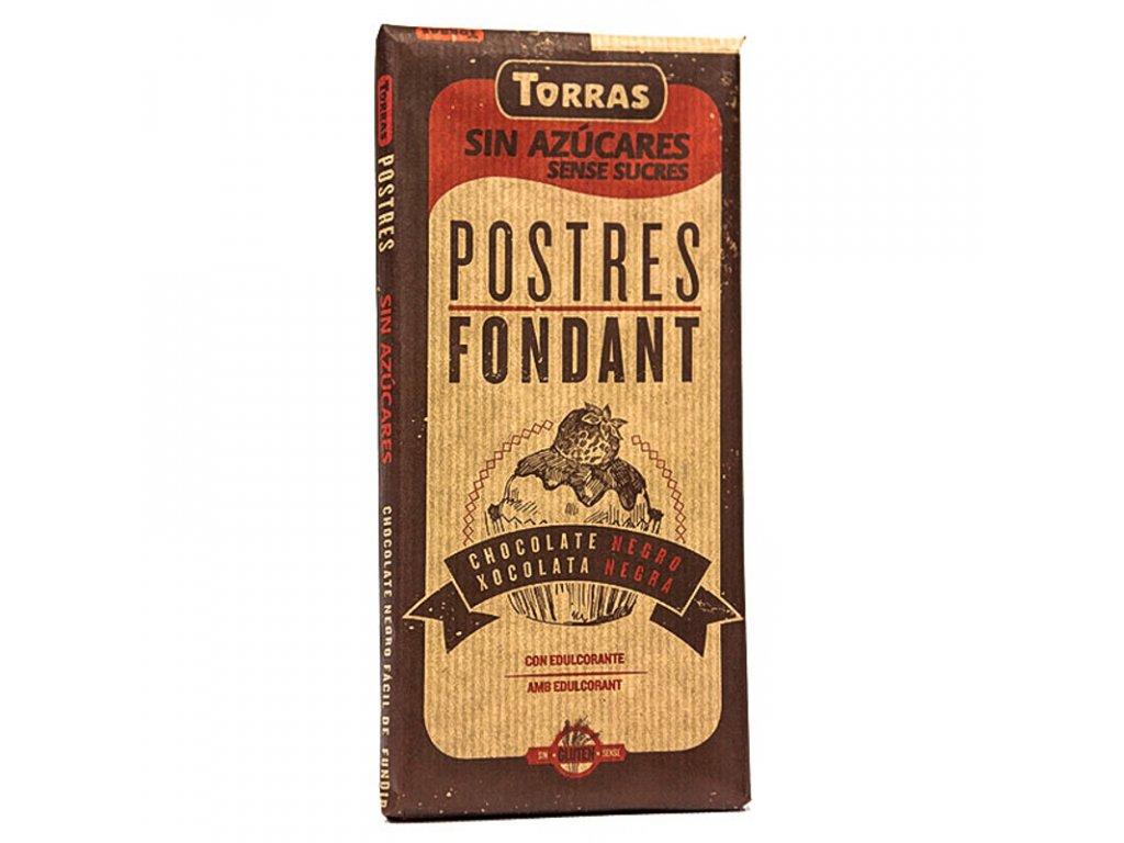 Čokoláda na vaření hořká TORRAS 200 g