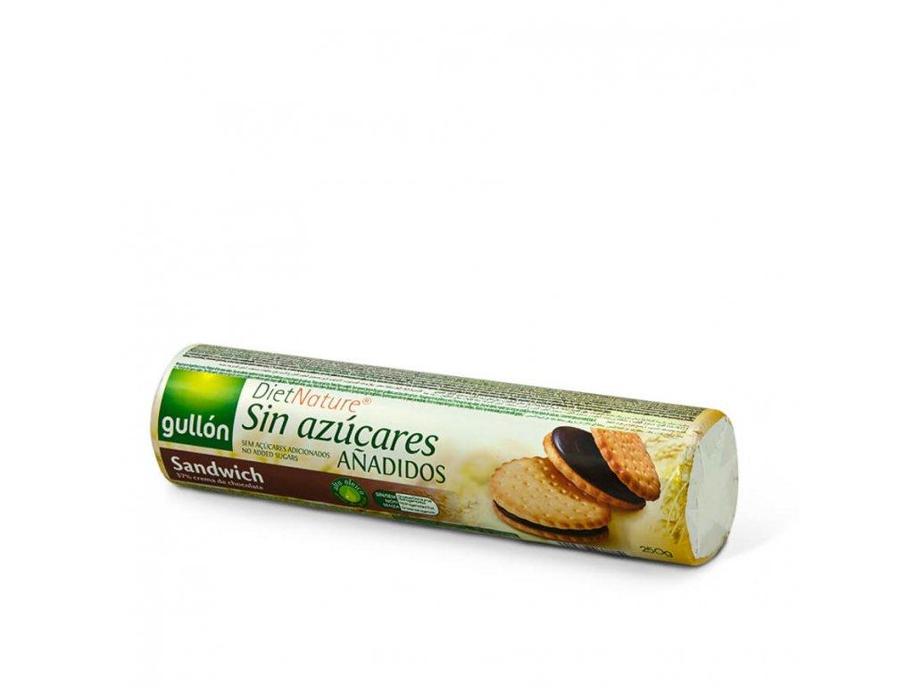 Sušenky Sandwich bez cukru GULLON 250 g