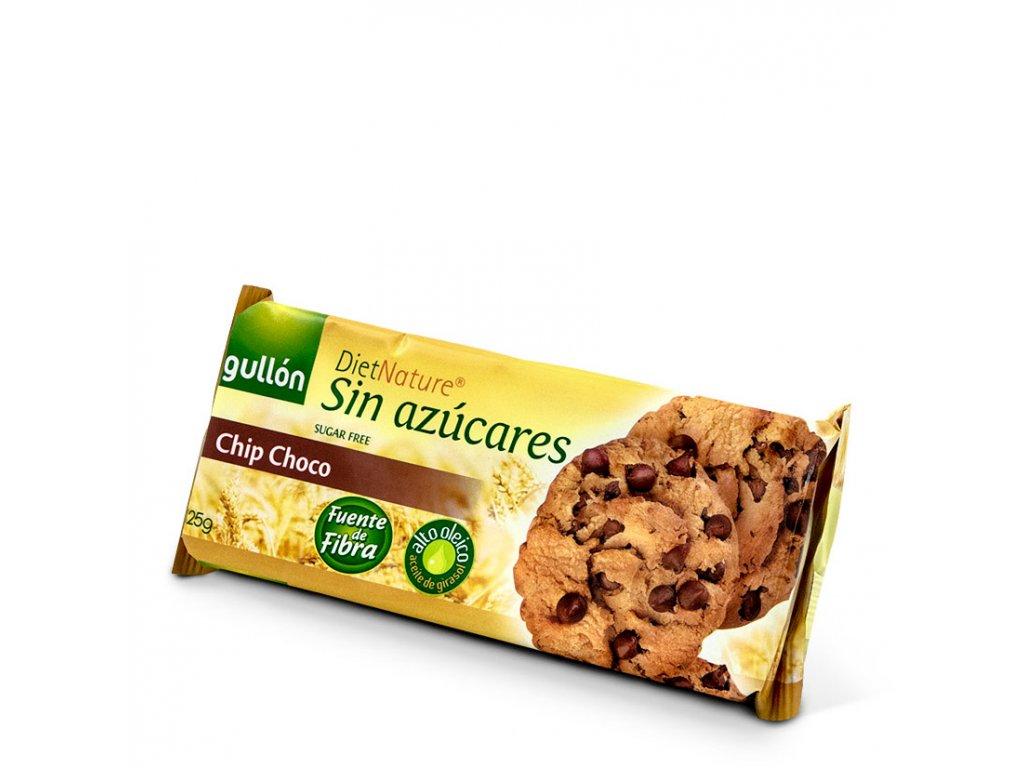 Sušenky Chip choco bez cukru GULLON 125 g
