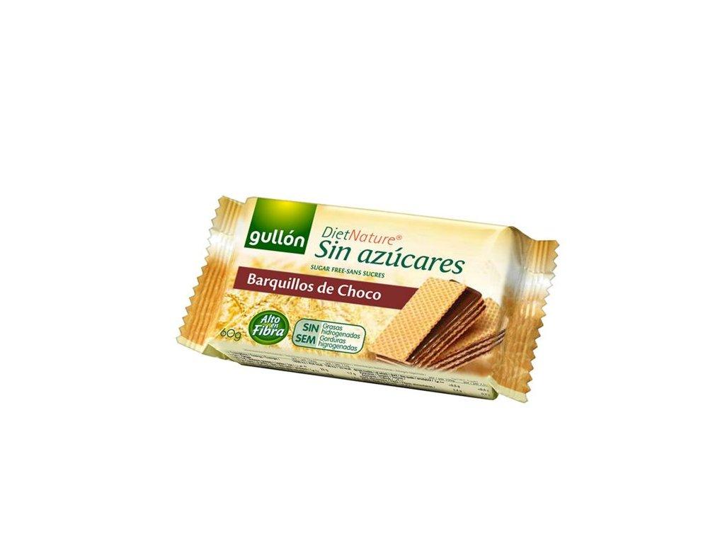 Vafle čokoladové bez cukru GULLON 60 g